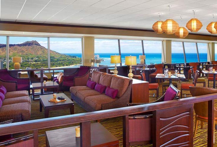 Sheraton Waikiki Hotel - Leahi Club lounge