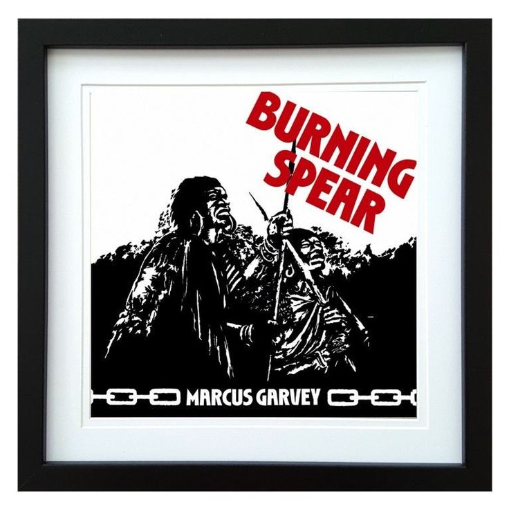 Burning Spear | Marcus Garvey Album | ArtRockStore