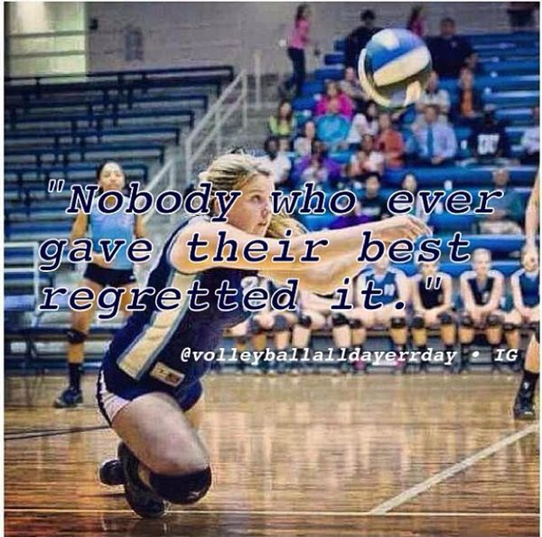 Volleyball quotes More