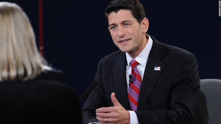Thank You Paul Ryan. Thanks to Romney-Ryan Team , We're on our way to delivering a brighter future, and a real recovery! Photo: The Vice Presidential Debate - CNN.com
