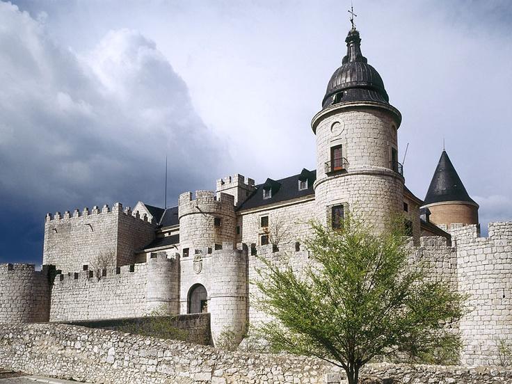 Simancas Castle Castilla Y Leon Spain