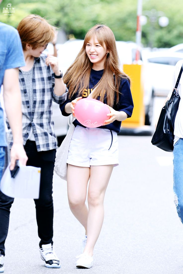 Red Velvet Wendy Kpop Fashion 150710 2015 Red Velvet