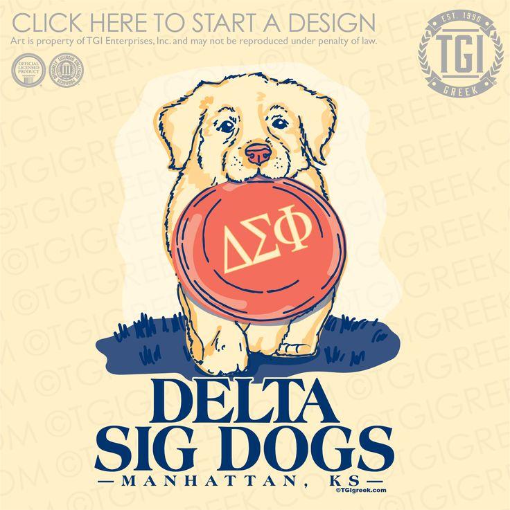 Delta Sigma Phi | ΔΣΦ | Delta Sig Dogs | Philanthropy | Philanthropy Shirt |TGI Greek | Greek Apparel | Custom Apparel | Fraternity Tee Shirts | Fraternity T-shirts | Custom T-Shirts
