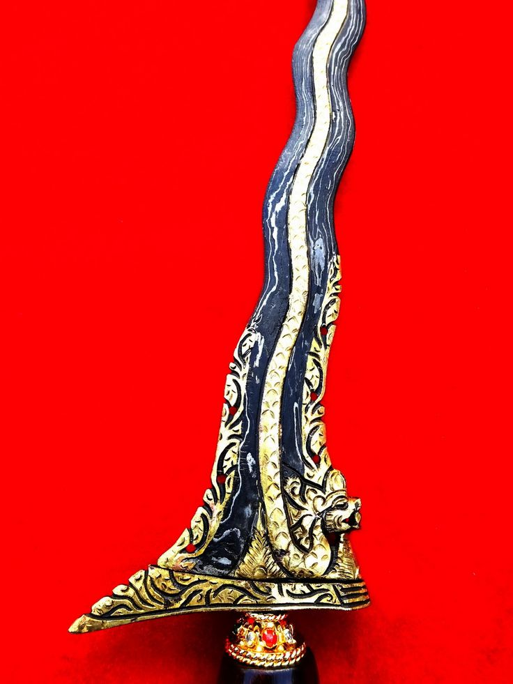 Keris Naga Raja Emas