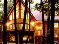 Gastineau Log Homes www.oakloghome.com