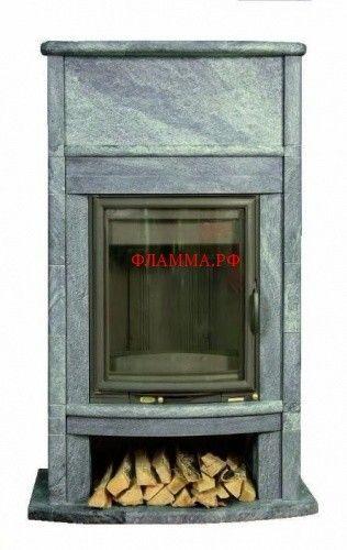 Камин WS5 на печном складе ФЛАММА      Камин WS5     Идеальный вариант для тех, кто выезжает за город на выходные, когда важно быстро протопить холодный дом. Камины серии WS быстро нагреваются в течении часа и медленно отдают тепло в течение 5-7 часов. Конвекционный принцип передачи тепла. Интенсивное тепловое излучение от стекла и конвекционных решёток уже в самом начале процесса растопки печи. В сочетании с уникальной облицовкой изТалькомагнезитаполучаем отличное сочетание цены и…