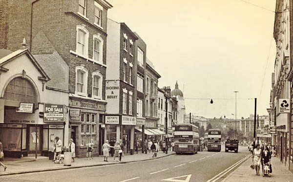 Angel Row in 1973. West End Arcade on the left. - NottsPics (@NottsPics) | Twitter
