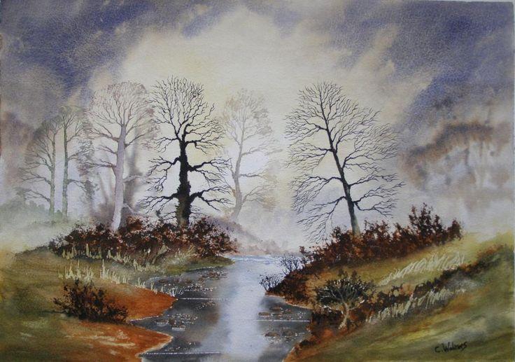 Forrest river 594 x 420 watercolour