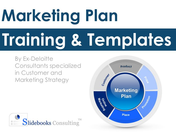 20 best simple marketing plan template |ex-deloitte images on, Presentation templates
