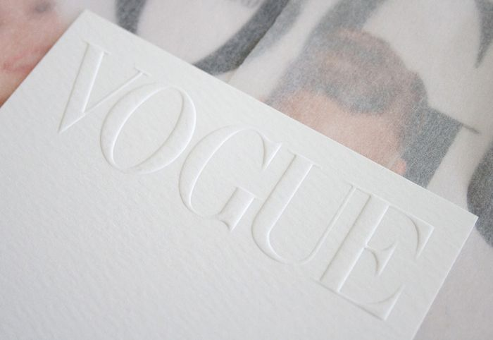 Vogue Limited Edition Box, designed by Jamie Mitchellwhile atStaat.