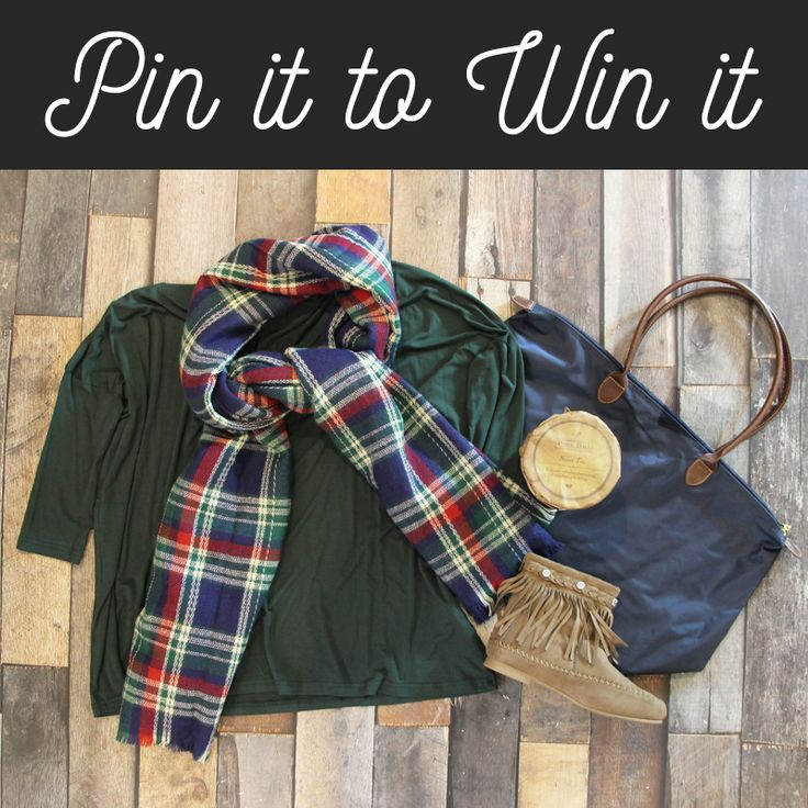 Want to WIN this fall outfit? Just LIKE, REPIN, & COMMENT with your shirt and shoe size! We'll announce the winner on 9/18! Click the pin to view the deets on what's included! Good luck! #shopentourage #giveaway #contest #pintowin #pinittowinit #fall #fashion