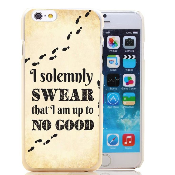Harry Potter quotes Transparent Hard Case Cover for iPhone 6 6s plus 5 5s 5c 4 4s Phone Cases