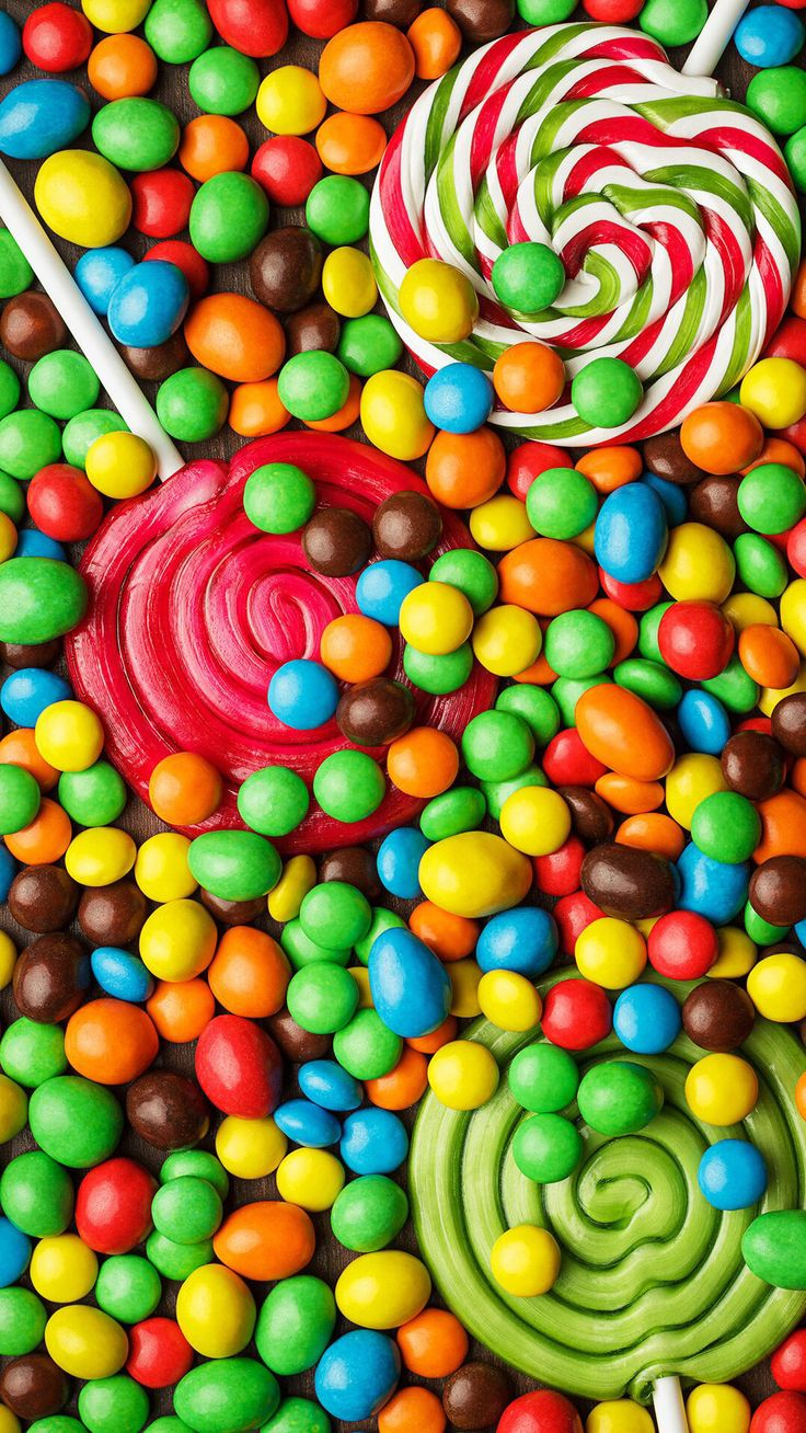 Candy. Food wallpaper, Food iphone, Iphone wallpaper