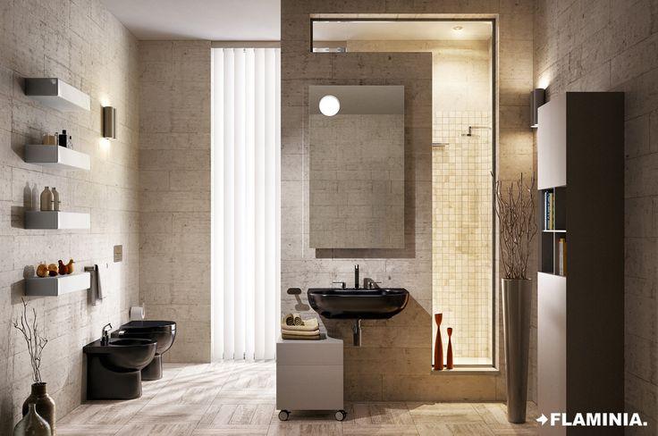 Vasi e bidet/Wc and bidet QUICK - Flaminia Design Team, 2011  #CeramicaFlaminia #Bathroom