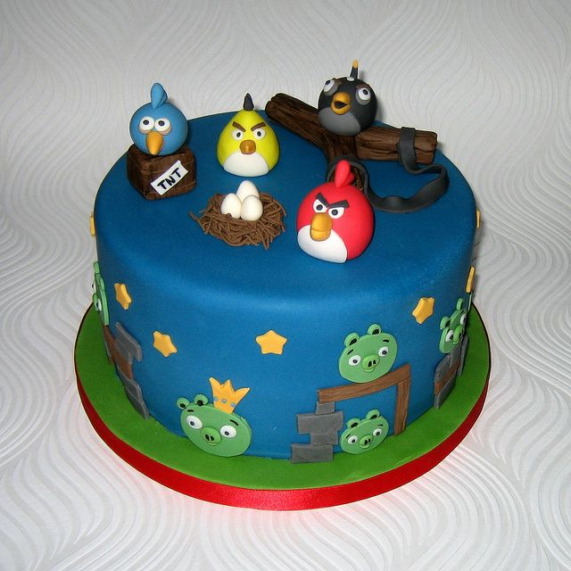 Images Angry Birds Cake