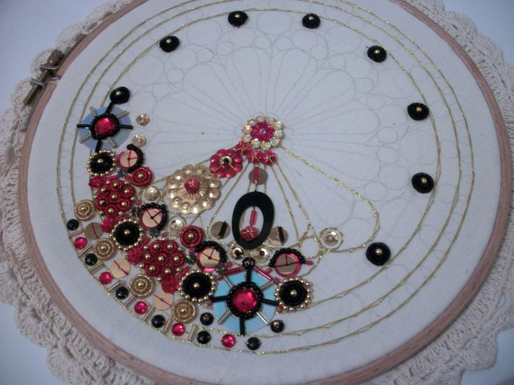 Images about bead and sequin embroidery on pinterest