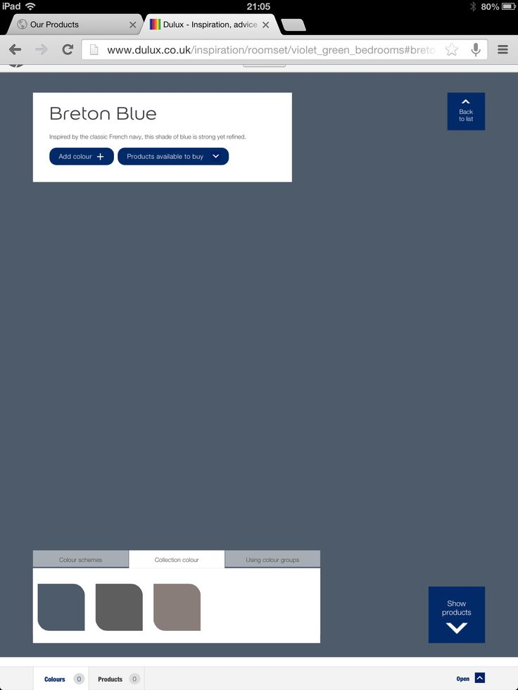 Dulux Breton Blue Blue Hallway Bedroom Green Living