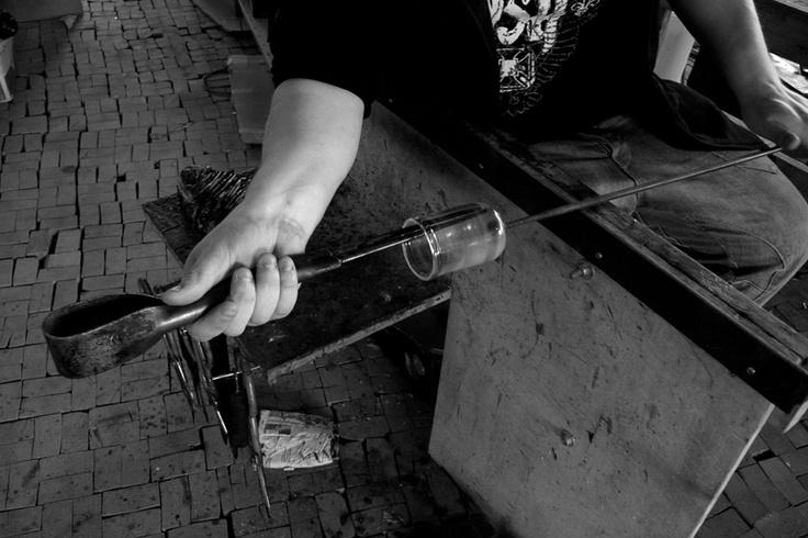 Suunnitelemamme Nappe-lasit valmistaa pitkällä ammattitaidolla kiikoislainen Lasistudio Jan Torstensson.