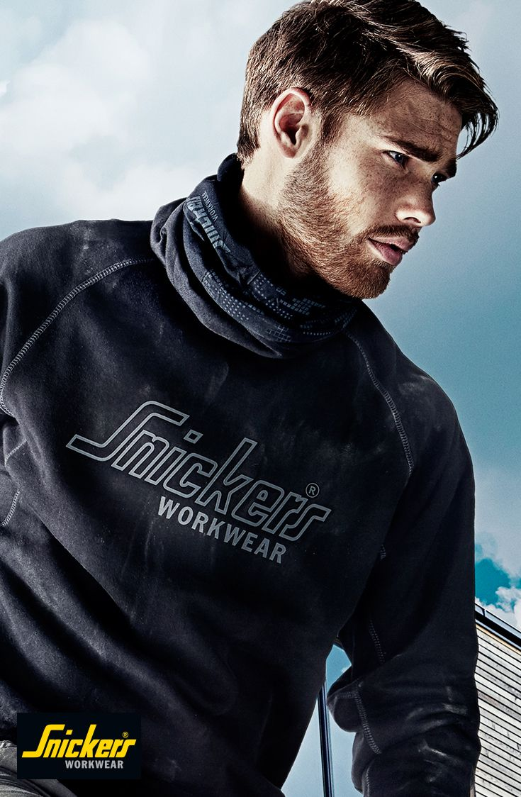 This #sweatshirt is a given for every craftsman. Round-necked and with contemporary design and printed Snickers Workwear logo on the chest. Hard-wearing pride at its best. #snickersworkwear