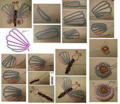 Make butterfly