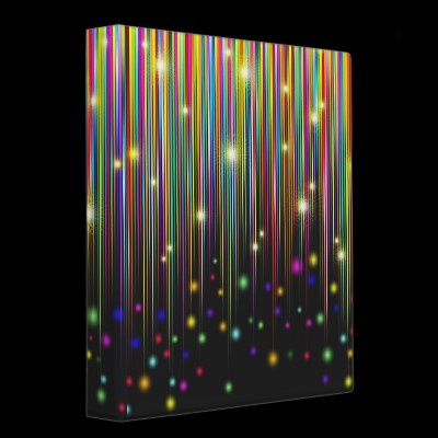 #Abstract #Colors #Glitter #Lights & #Stripes 3 Ring #Binder © #Bluedarkat - on #Zazzle!: Luvin Colors, Abstract Colors, Colors Glitter, Lights Colors