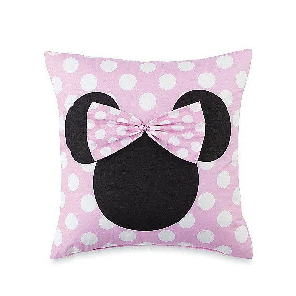 Cute Throw Pillows Pinterest : 18 best images about Minnie Mouse bedroom on Pinterest Disney, Cute pillows and Minnie mouse pink