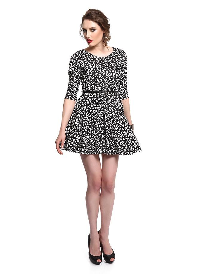 SATEEN Leopar elbise Markafoni'de 69,90 TL yerine 34,99 TL! Satın almak için: http://www.markafoni.com/product/3411055/