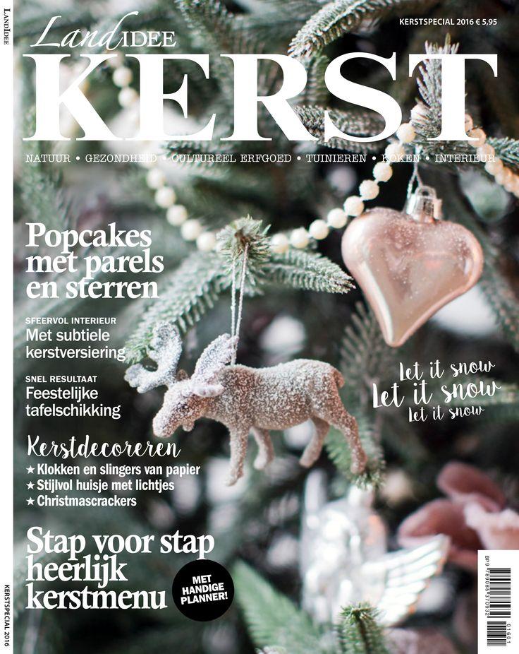 Cover kerstspecial LandIdee 2016 #landidee #magazine #holland #christmas #kerst