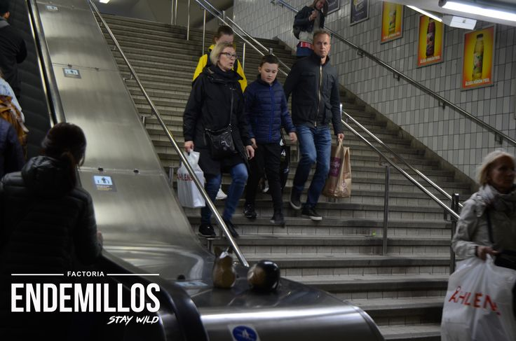 Central Station Stocolme Endemillos are traveling