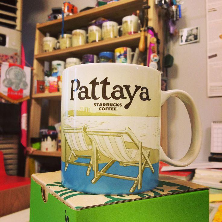 Pattaya STARBUCKS Coffee MUG.  또하나의 머그컵이 손안에 들어왔다.  #파타야 #thaifriend