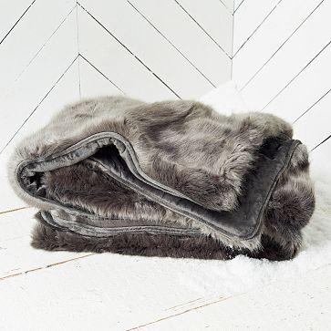 Faux Fur Throws #westelm