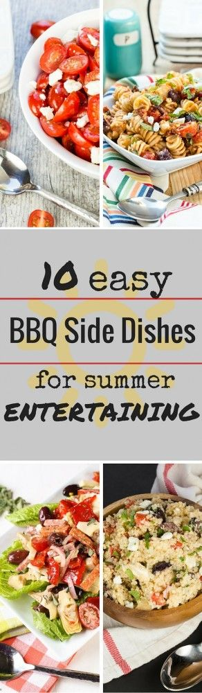 10 easy bbq side dishes grilling dishes and recipes for Side dish recipes for grilling out