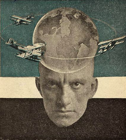 Vladimir Mayakovsky by Alexander Rodchenko -Painting, Drawing, Collage, Design, Photography-