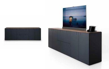 Tv Wand Ideen Fur Tv Mobel Tv Mobel Fernseher Verstecken Tv