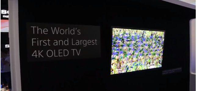 CESでソニーは夢の800万画素の有機ELテレビの試作機を出展しました。初めて体験した4K対応56インチ有機ELテレビは、とても明るくて、美...