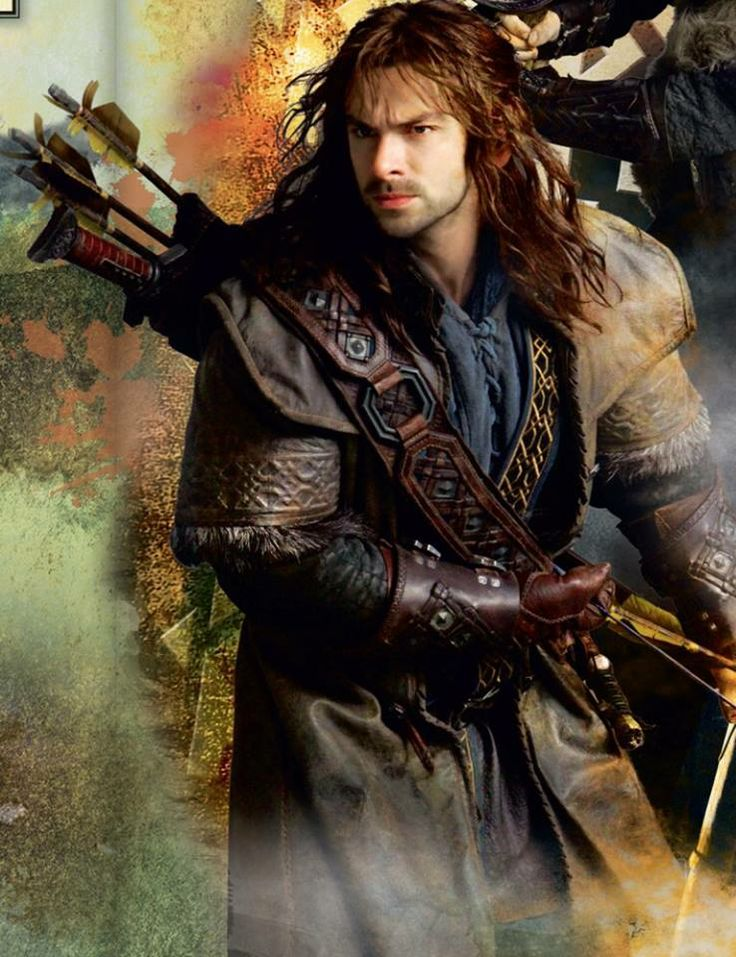 Kili is ready for anything. Fili is right behind him.