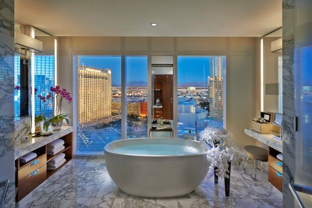 10 Beautiful Bathroom Designs With Round Bathtubs For Real Pleasure