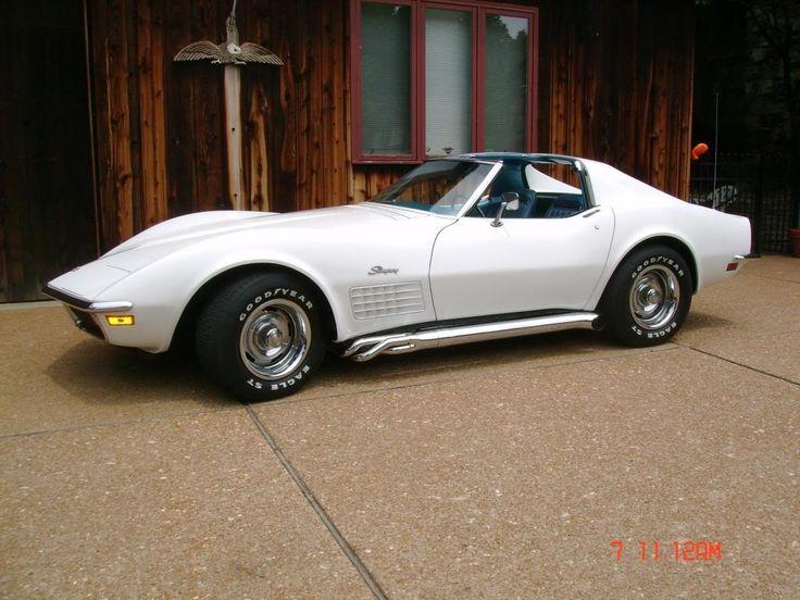 1971 corvette stingray blue white rides pinterest corvettes chevrolet corvette stingray and chevrolet corvette - Corvette Stingray 1969 White