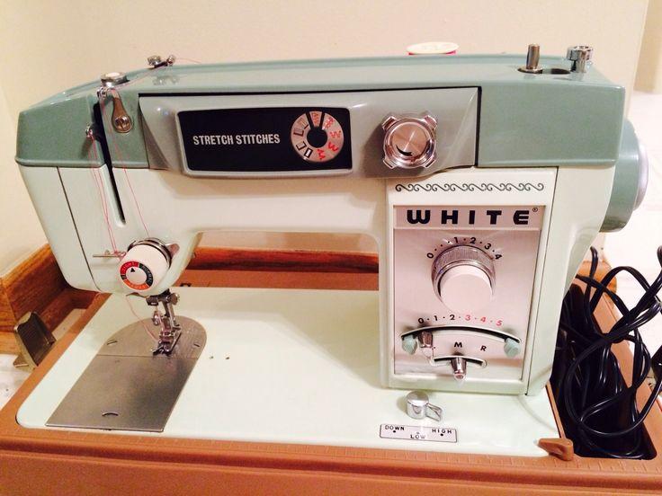 white 935 sewing machine