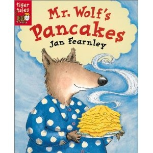 Mr. Wolf's Pancakes ~ Excellent to compare to The Little Red Hen!  Also has all of the Fairy Tale characters in it!
