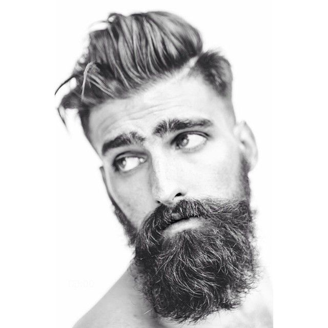 ... -looking models posing with their hairstyles. Heres a regular dude