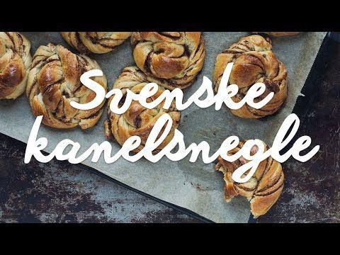 Video-opskrift: Svenske kanelsnegle + guide til at snurre kanelsnegle perfekt