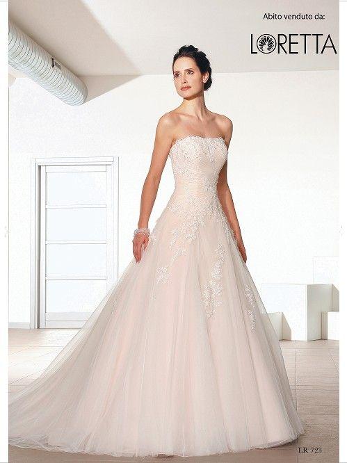 Collezione 2016 | Vestito da sposa rosa pallido con ricami #sposa #wedding #weddingdress #matrimonio