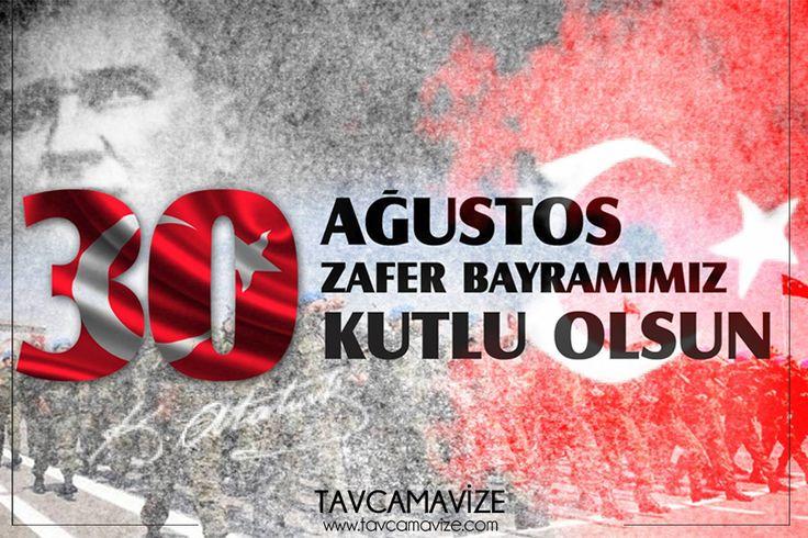 30 Ağustos Zafer Bayramınız Kutlu Olsun ✨ www.tavcamavize.com #tavcam #zaferbayramı #30ağustos #bayramınızkutluolsun