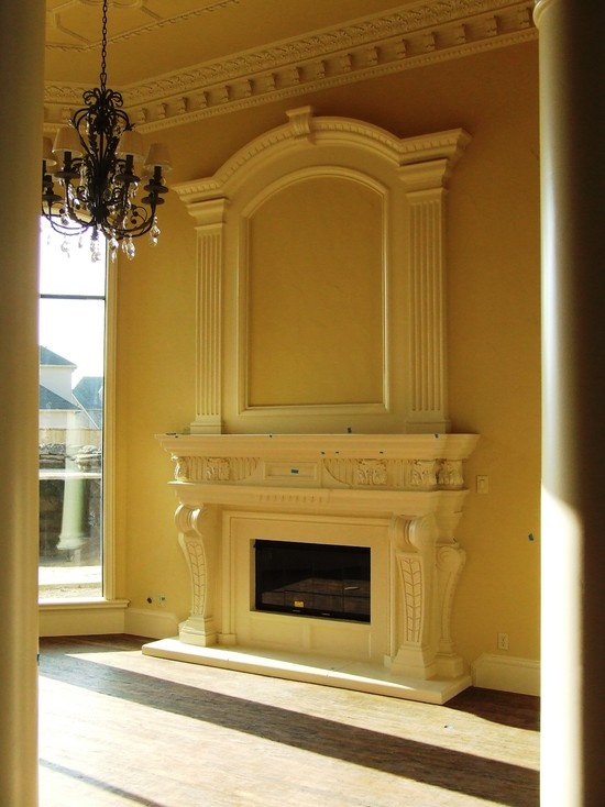 Best 25 mediterranean fireplaces ideas on pinterest for Mediterranean fireplace designs