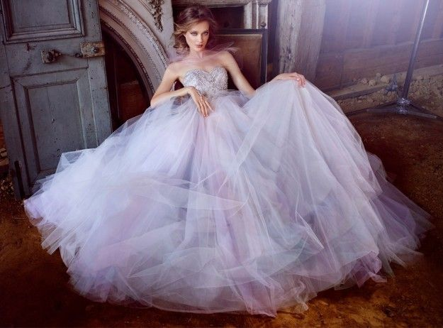 Lazaro collezione 2016 - Bridal gown in tulle