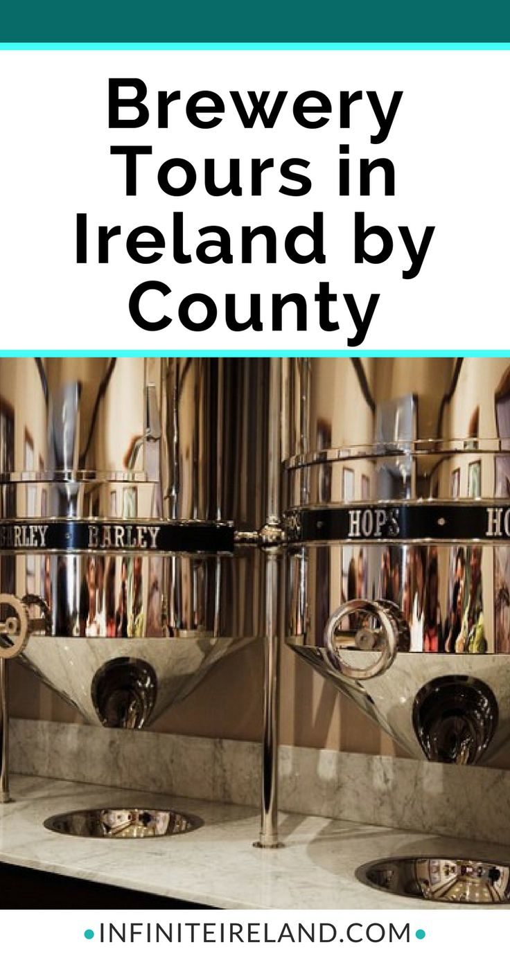 There are dozens of local breweries in Ireland. Many of them offer tours including the big ones like Guinness Storehouse (of course!) and small microbreweries that you've never heard of. I thought I would do a little digging and compile a list of brewery tours in Ireland.