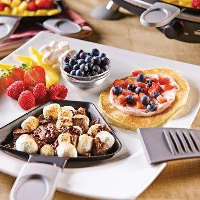 Raclette dessert - Recettes - Cuisine et nutrition - Pratico Pratique