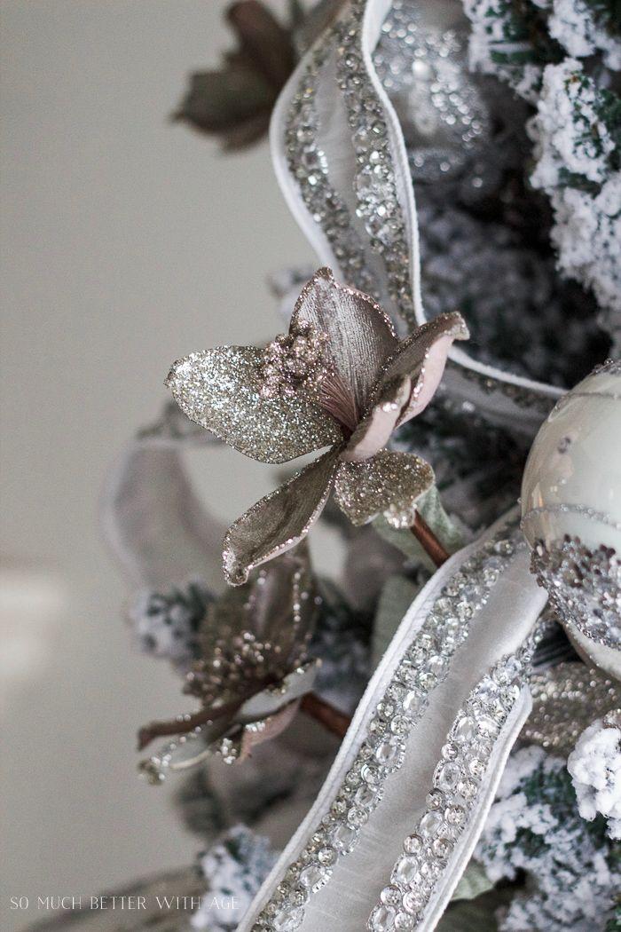 die besten 25 str mten weihnachtsb ume ideen auf pinterest wei e weihnachtsb ume wei e. Black Bedroom Furniture Sets. Home Design Ideas