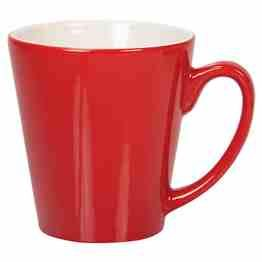Stylish conical profiled mug with comfort-fit handle. 300ml capacity. Boxed. http://bit.ly/19dEu2J